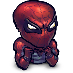 Download Vector Comics Spiderman Baby Icon Vectorpicker