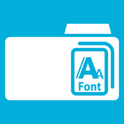 Download Vector Elegant Fonts Icon Set Vectorpicker