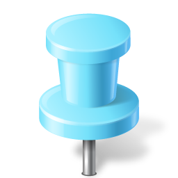Download Vector Map Marker Push Pin 2 Azure Icon Vectorpicker