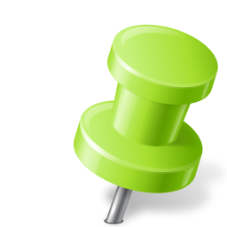 Download Vector Map Marker Push Pin 2 Right Chartreuse Icon Vectorpicker