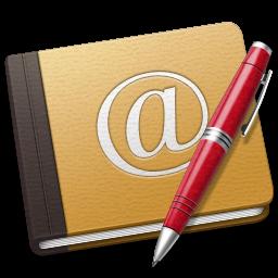 Download Vector Address Book Oldschool Blue Icon Vectorpicker
