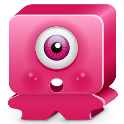 Download Vector Monster Pink Icon Vectorpicker