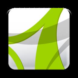 Download Vector Adobe Acrobat Reader 8 Icon Vectorpicker