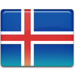 Download Vector Painted Flag Of Iceland Vectorpicker