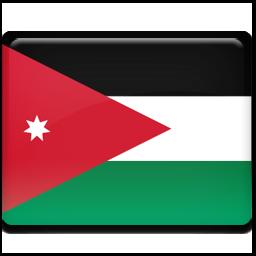 Download Vector Painted Flag Of Jordan Vectorpicker