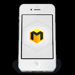 IPhone White Musett Icon