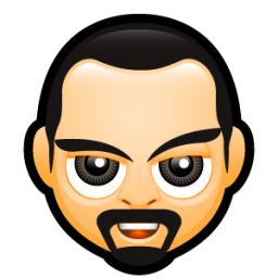 Download Vector Male Face D3 Icon Vectorpicker
