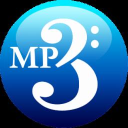 Download Vector Mp3 Blue Icon Vectorpicker