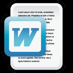 Document Microsoft Word Icon