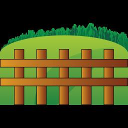 Farm Fence Clipart free icons: farm fence icon   animals   aha-soft