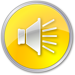 Volume Normal Yellow Icon