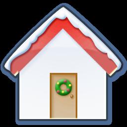 Download Vector Home Snow Icon Vectorpicker