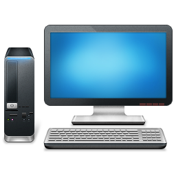 Modern flat icons set. Pc components. Computer store. Assembling.