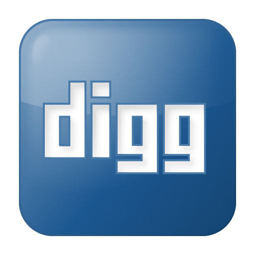 Free social_digg_box_blue