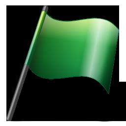Free Flag2_Green