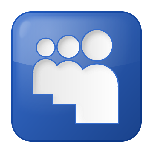 Free social_myspace_box_blue