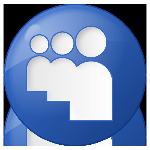 Free social_myspace_button_blue