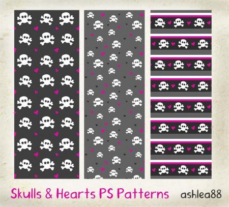 Free Skulls and Hearts