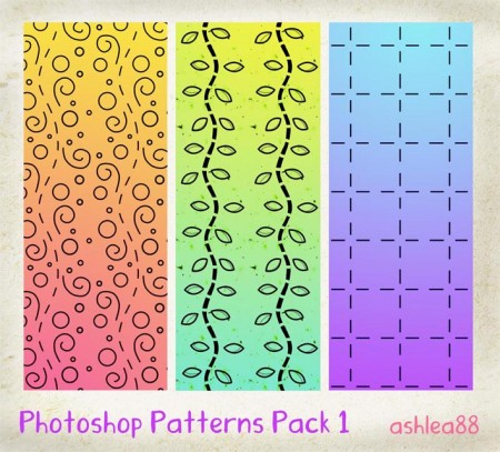 Free PS Patterns Pack 1
