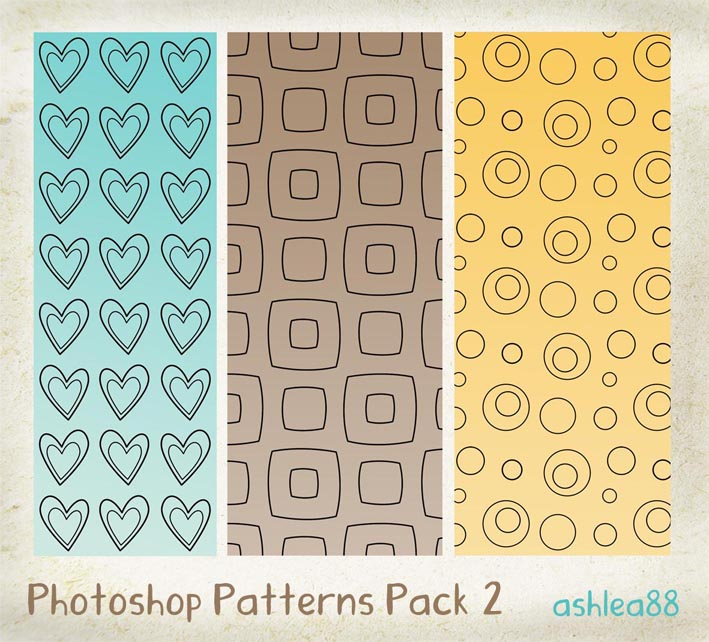 Free Patterns: PS Patterns Pack 2 | Ashlea