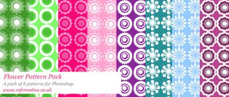 Free Flower Pattern Pack
