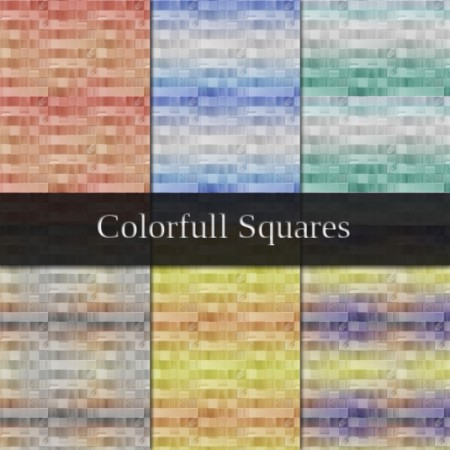 Free Colorful Squares