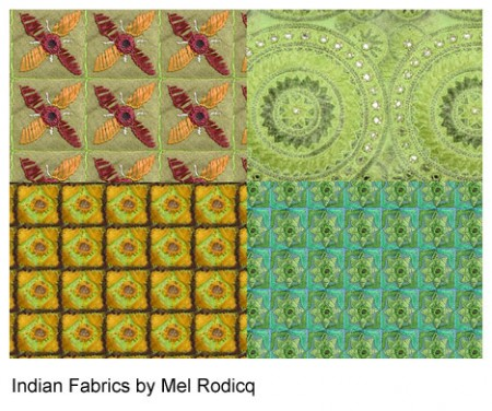 Free Indian Fabric Patterns