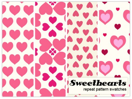 Free Sweetheart pattern