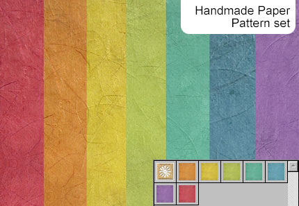 Free Patterns: Handmade Paper Pattern | Mel