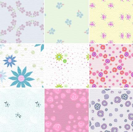 Free Patterns: Dusty Florals | Mel