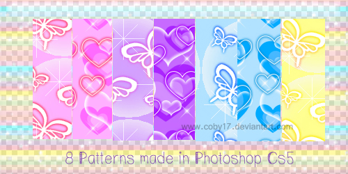 Free Patterns: Butterflies and Hearts | Glenda