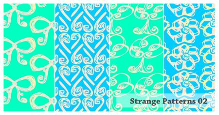 Free Strange Patterns
