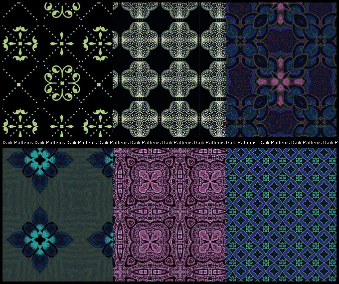 Free Patterns: Dark | Znow