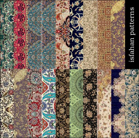 Free Isfahan Patterns