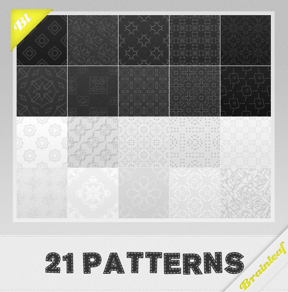 Free Patterns: Black and White Patterns | Ransie3