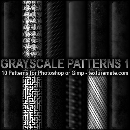 Free Grayscale Patterns 1