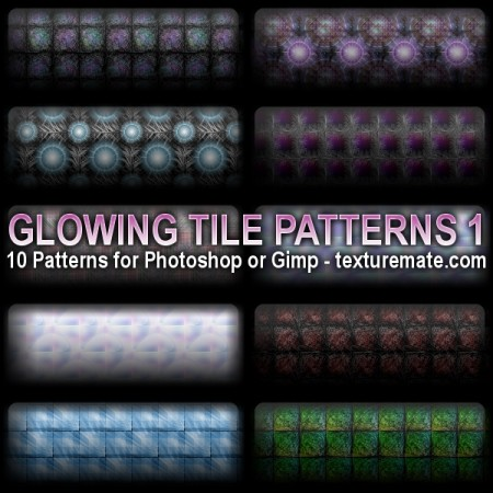 Free Glowing Tile Patterns 1