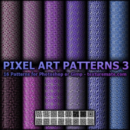Free Pixel Art Patterns 3