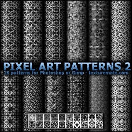Free Pixel Art Patterns 2