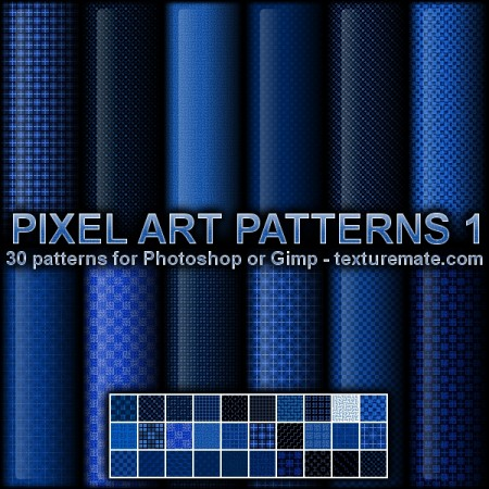 Free Pixel Art Patterns 1