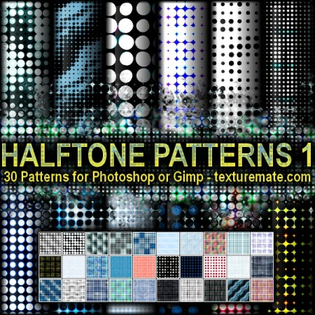 Free Halftone Patterns 1