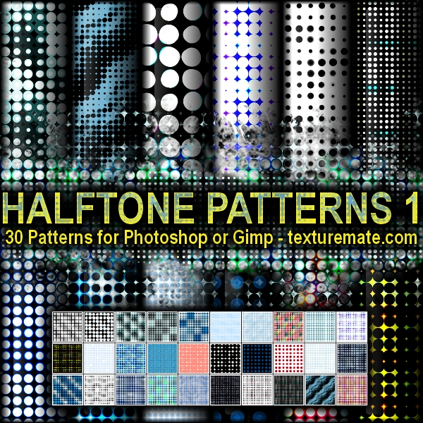 Free Patterns: Hexagon Patterns 1 | AscendedArts