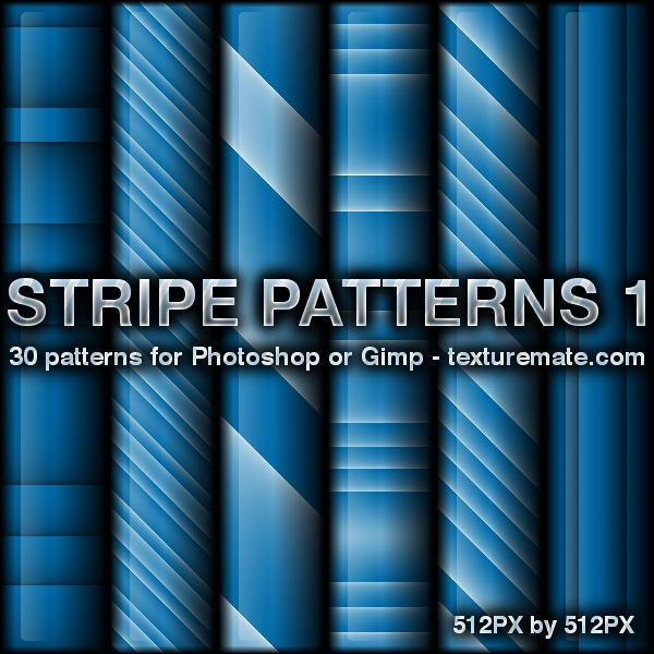Free Patterns: Stripe 1 Patterns | AscendedArts