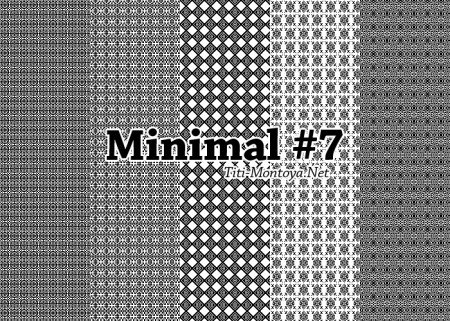 Free Minimal Photoshop Patterns #7
