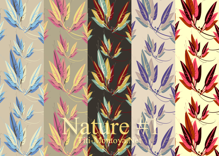 Free Patterns: Nature #1 | Nature | Titi Montoya