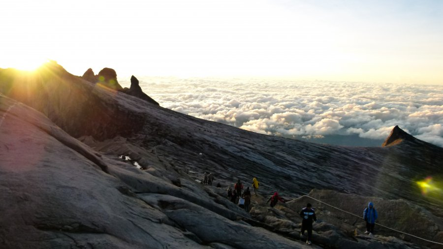 Free Photos: People on top of the mountain above the clouds | Nature | Topich
