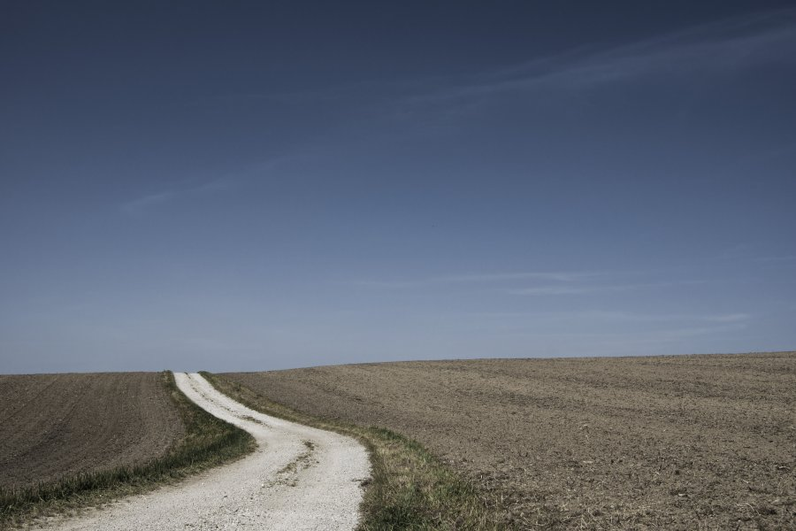 Free Photos: Road with fields on both sides   Backgrounds   Martin Dörsch