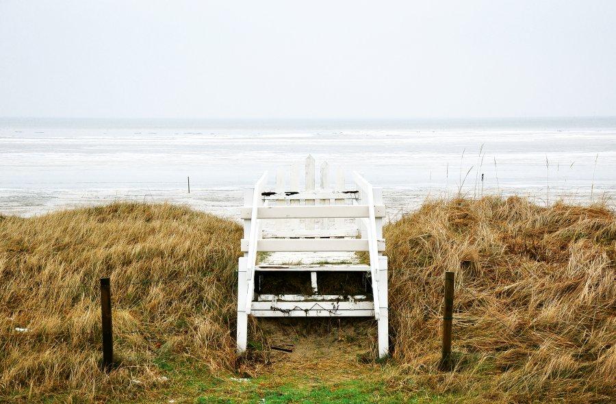 Free Photos: Lifeguard chair at the frozen sea | Nature | Davide Ragusa