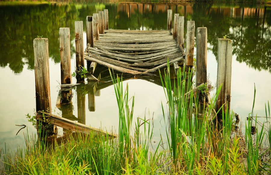 Free Photos: Old damaged wooden pier | Nature | Tom Butler