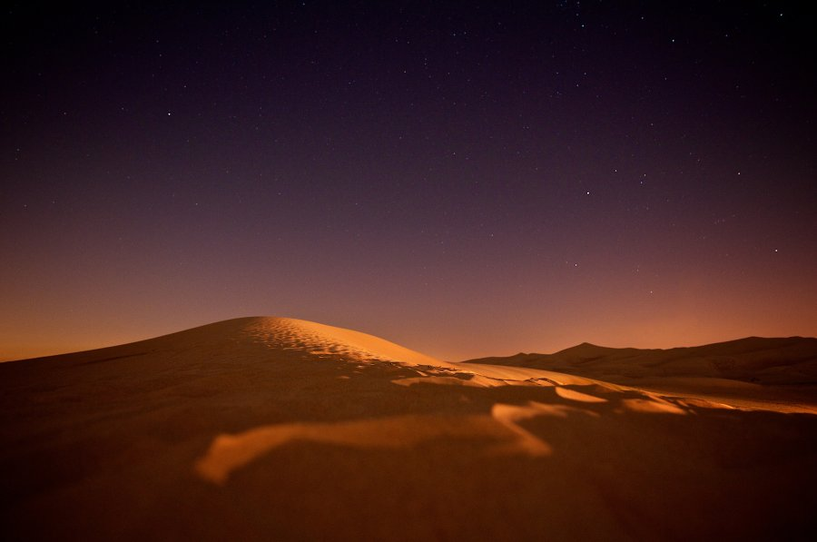 Free Photos: Desert in starlight | Nature | Tim de Groot